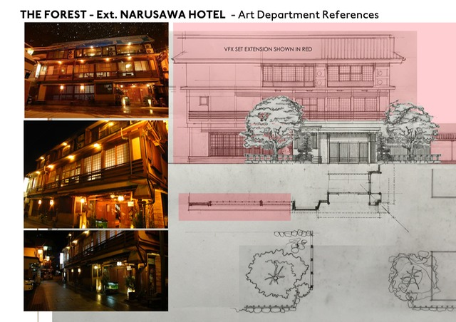 40.2_Ext.Narusawa Hotel  Set Build for Art dept vfx