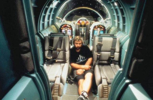 Zfx 200 Interior with Luc besson